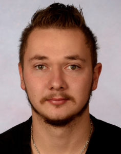 Biometrisches Passbild junger Mann