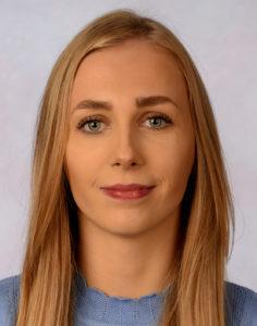 Biometrisches Passbild junge Frau
